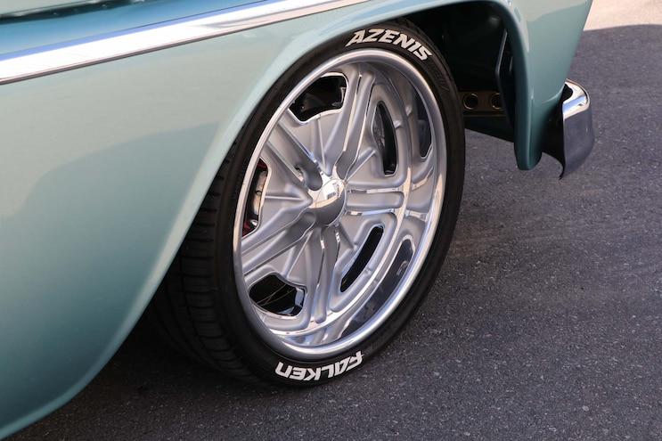 1964 Chevy C10 Huntington Beach Blues Wheel
