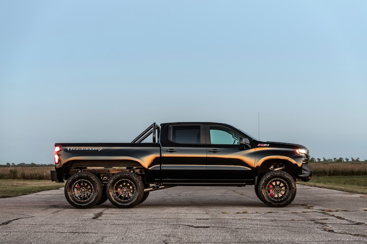 Silverado-Based Hennessey Goliath 6x6 Hits the Market
