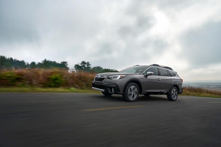 2020 Subaru Outback Xt Touring Exterior Front Quarter 01