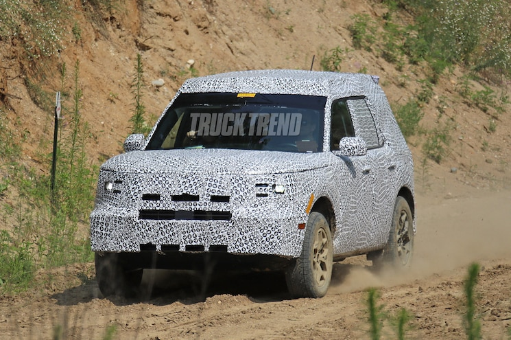 Spied 2021 Ford Baby Bronco Called The Adventurer Or
