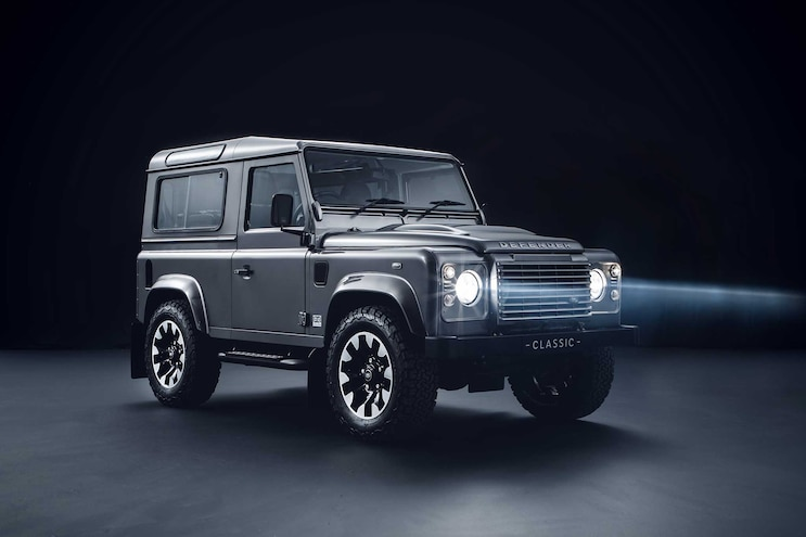 Land Rover Creates Upgrade Kits for Older Defenders