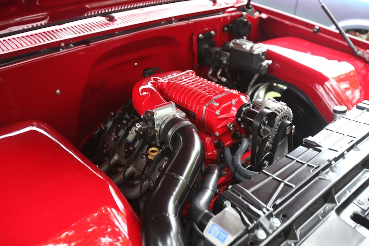 Brothers Show And Shine 2019 Red Dually Engine