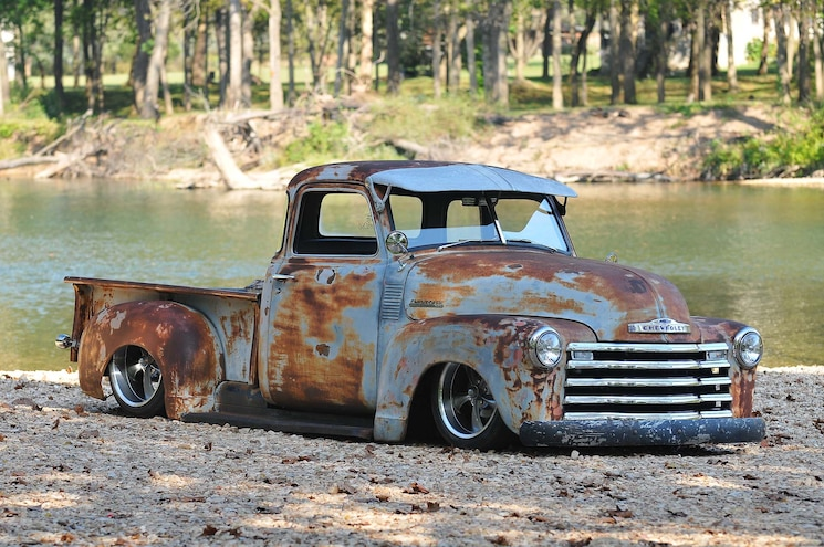 Busted Knuckles- 1948 Chevy 3100- Toys for Tya