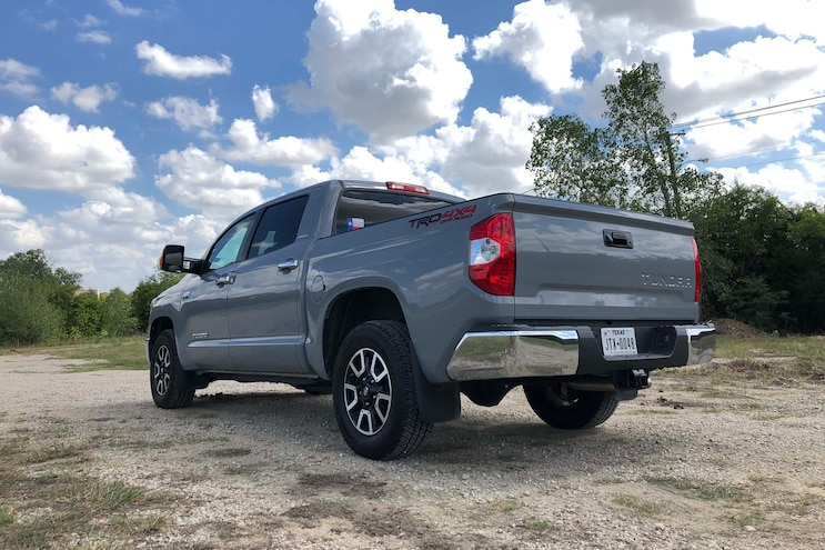 Daily Driven 2018 Toyota Tundra Limited Rear 3q