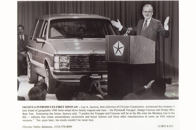 Lee Iacocca Minivan Introduction