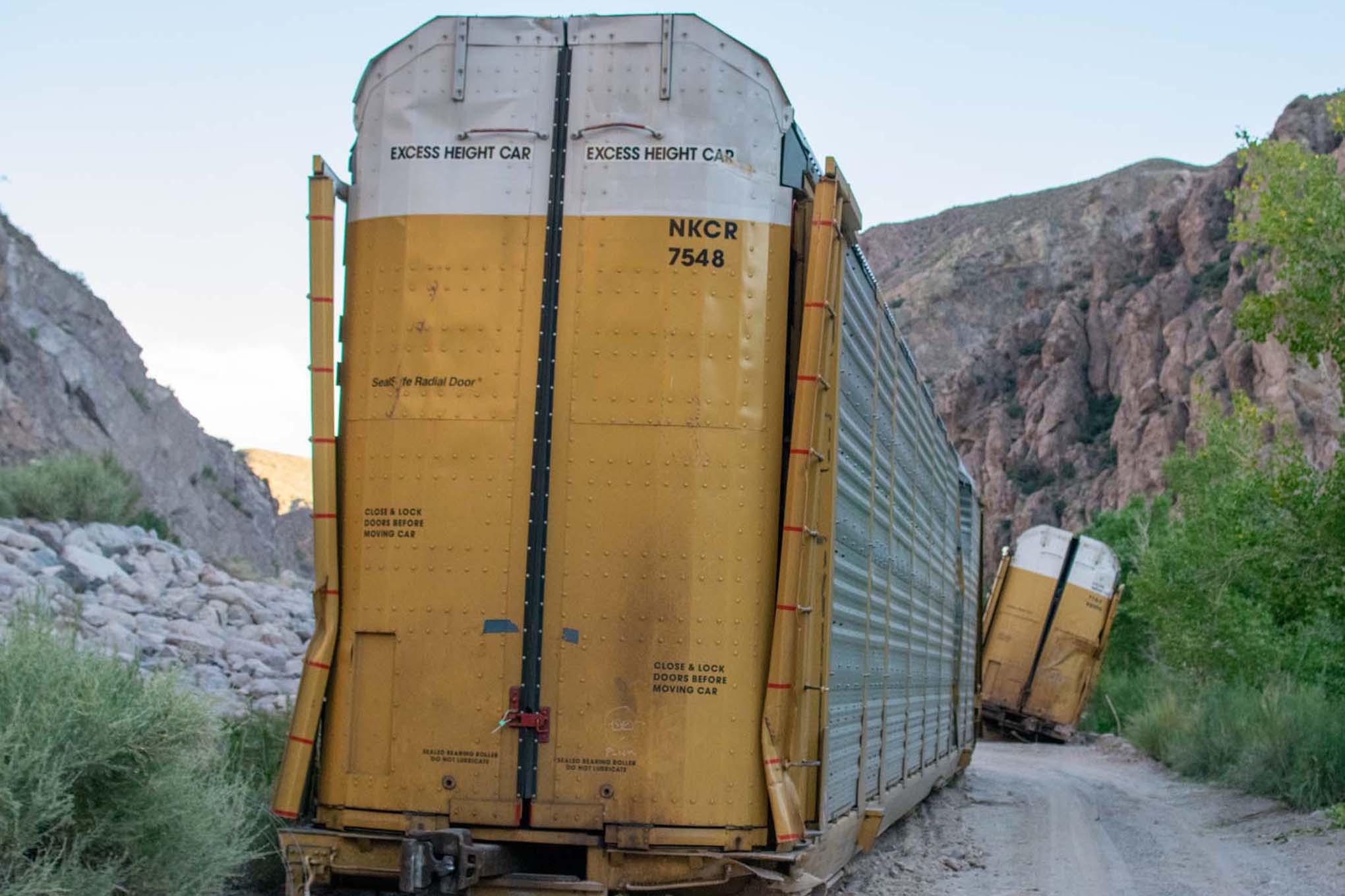 Freight Train Derailment Chicago