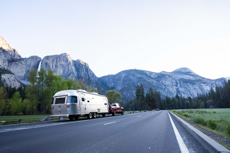 Trailer Tow Tutoring In Yosemite With Nissan 009