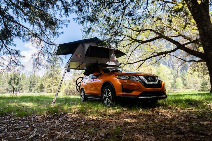 Trailer Tow Tutoring In Yosemite With Nissan 010