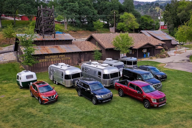 Trailer-Tow Tutoring in Yosemite National Park With Nissan Vehicles