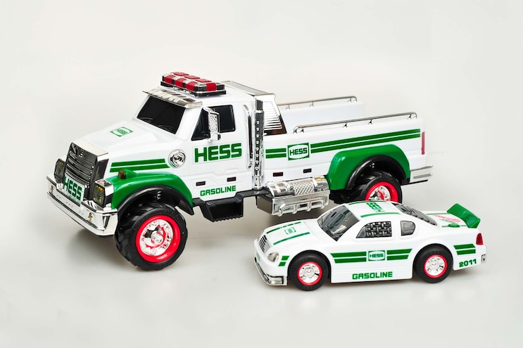 Truck Trend Legends Hess Toy Trucks 2011 Hess Pickup And Racecar