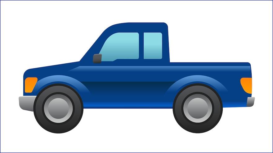 Ford Designs a Pickup Truck Emoji
