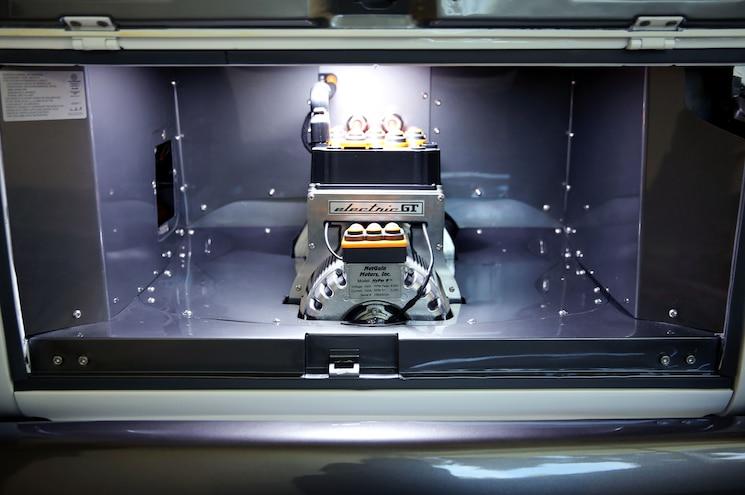 Volkswagen Type 20 Ev Microbus Concept Exterior Engine Bay