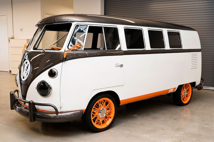 Volkswagen Builds Retro-Futuristic Type 20 EV Concept Based on 1962 Microbus