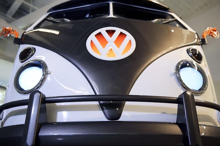 Volkswagen Type 20 Ev Microbus Concept Exterior Front View