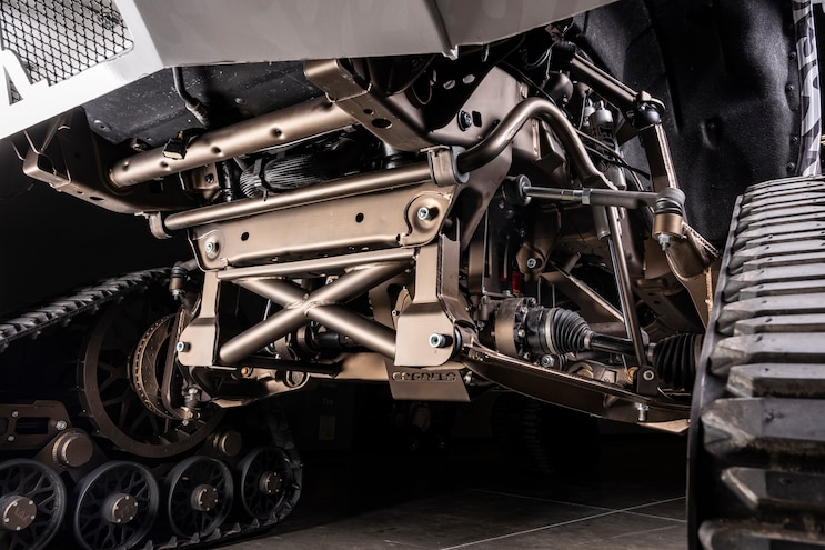 2016 Chevy 2500 High Country High TraX Front Suspension