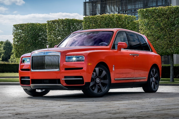 What the Fux? Rolls-Royce Unveils Cullinan in Fux Orange at Pebble Beach