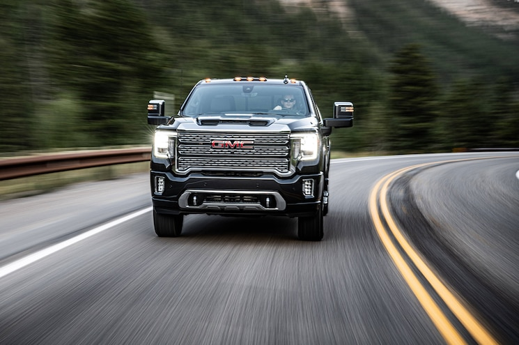 2020 Gmc Sierra Hd Exterior Front View 01