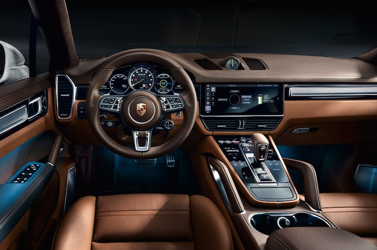 2020 Porsche Cayenne Turbo S E Hybrid Interior Dashboard