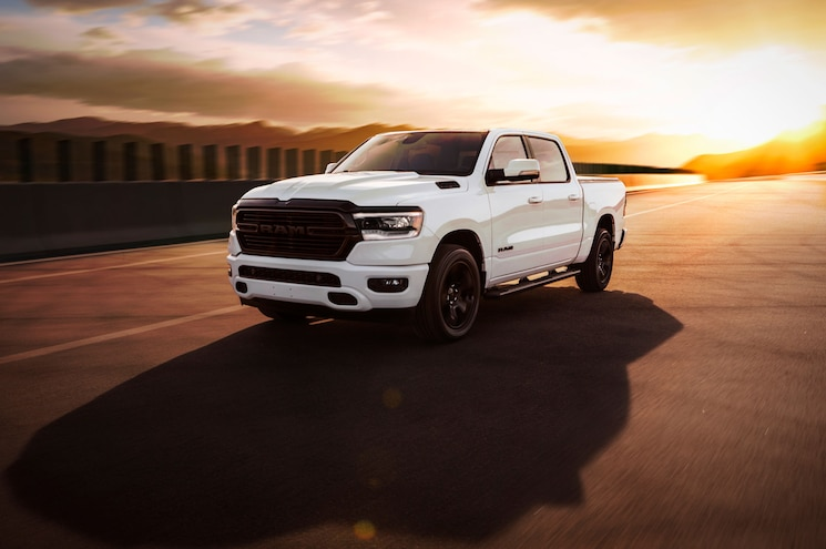 2020 Ram 1500 Big Horn Night Edition Front Quarter 02