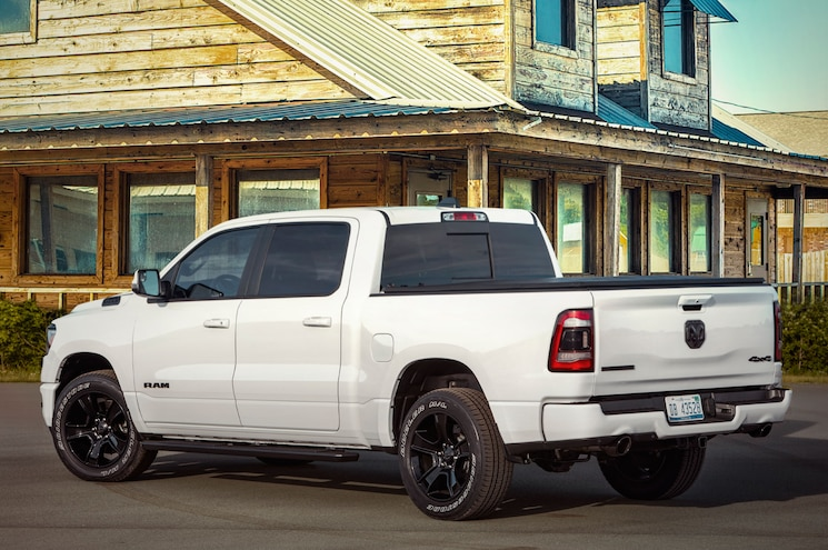 2020 Ram 1500 Big Horn Night Edition Rear Quarter