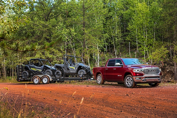 2020 Ram 1500 Ecodiesel First Drive Hauling