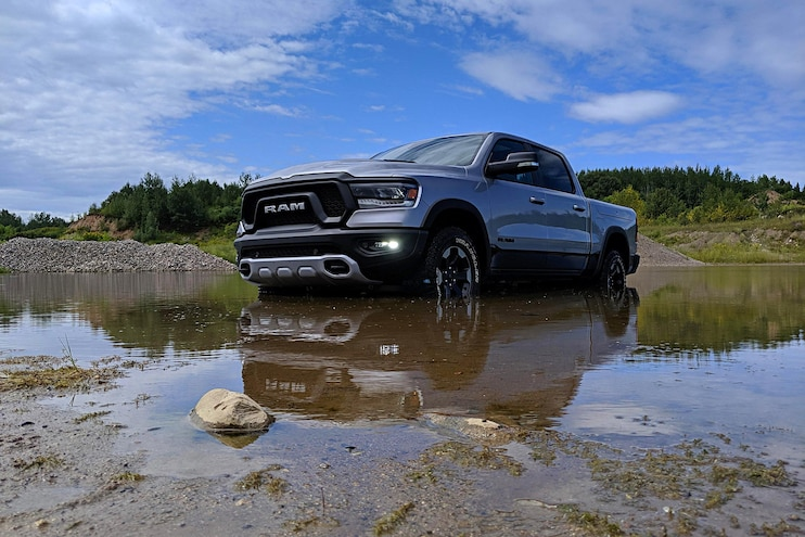 2020 Ram 1500 Ecodiesel First Drive In Water 1