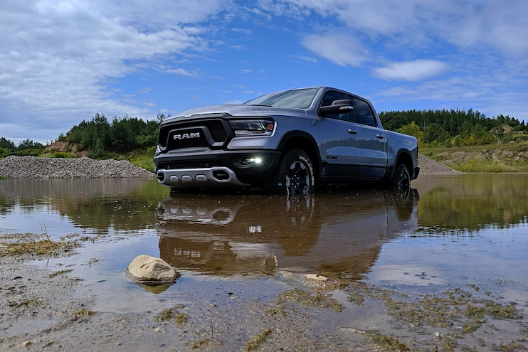 2020 Ram 1500 Ecodiesel First Drive In Water