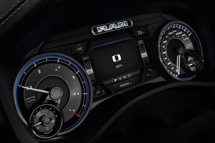 2020 Ram 1500 Ecodiesel Interior Instrument Cluster