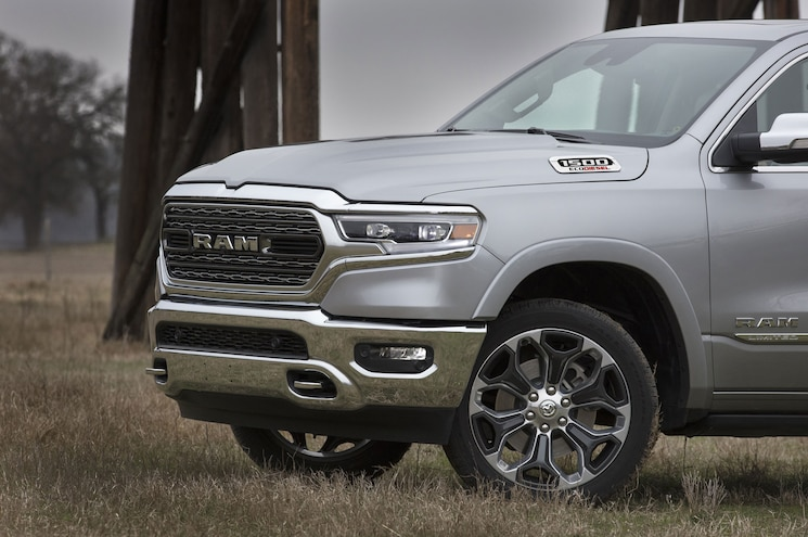 2020 Ram 1500 Limited Ecodiesel Exterior Front Clip