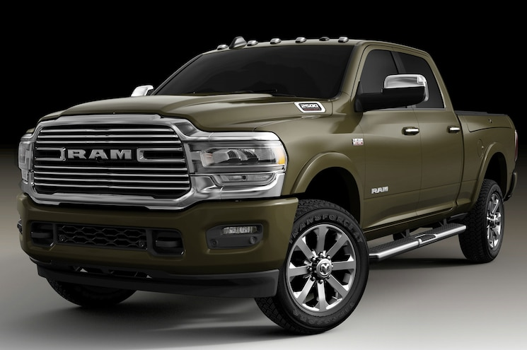 2020 Ram Heavy Duty Offers Two Accessory Towing Cameras, Lane Keep Assist