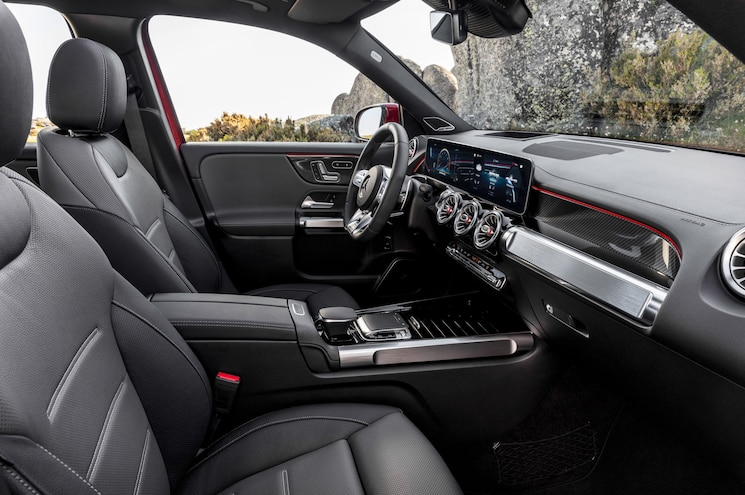 2021 Mercedes Amg Glb 35 Interior Front Cabin