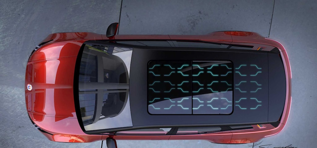 Fisker SUV Solar Roof