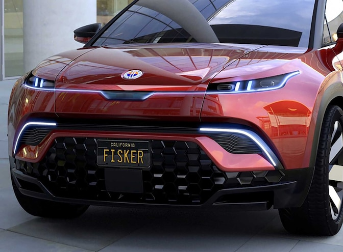 Fisker Teases Electric Truck