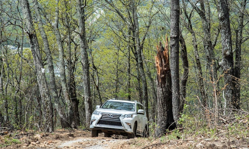 Lexus and Blackberry Mountain Create Off-Road Adventure