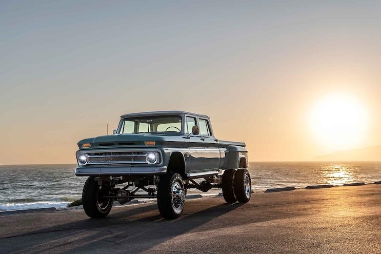 The Ponderosa: Rtech Fabrications Builds 1966 Chevrolet Crew Cab Dualie