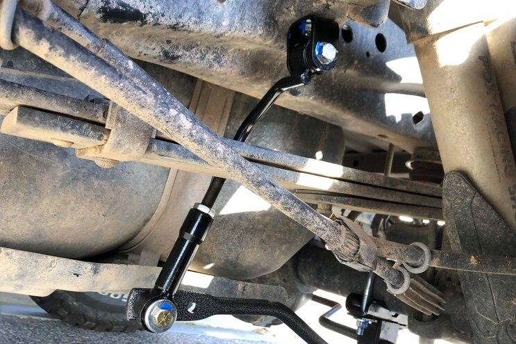 Hellwig Ford F 150 Raptor Rear Sway Bar Install 010