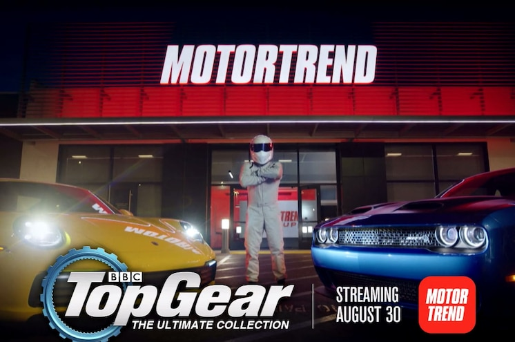 Top Gear Is Coming to the MotorTrend App On August 30