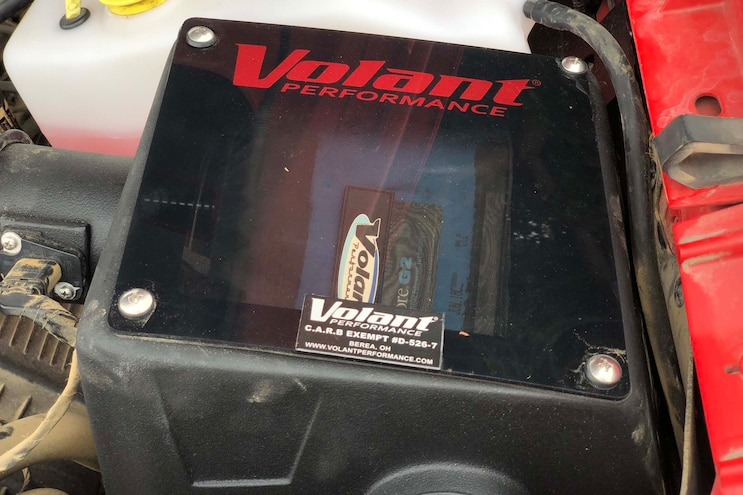 Volant Performance Intake Kit Install