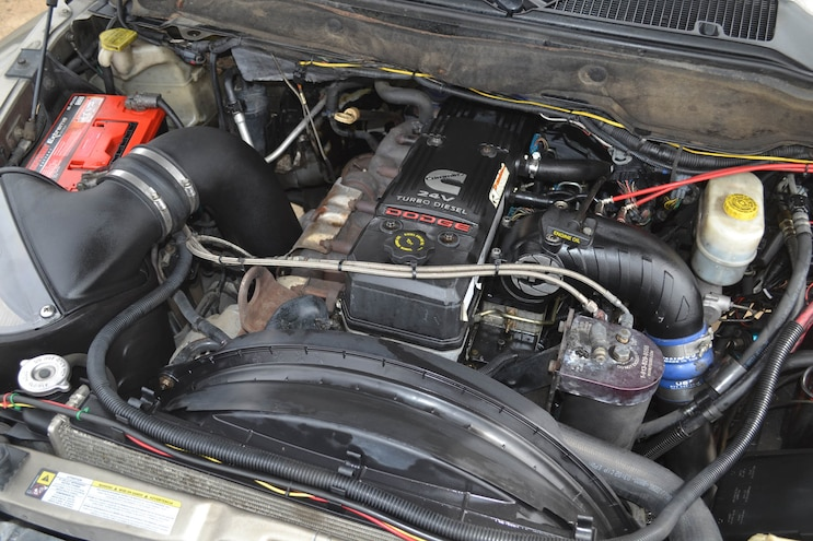 002 2007 Dodge Ram 6 7l Engine Swap