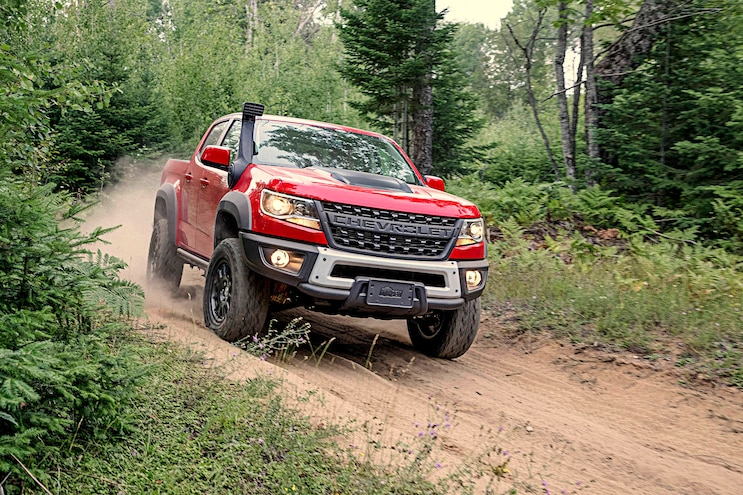 003 2020 Diesel Light Truck SUV Buyers Guide 2019 Chevrolet Colorado Zr2 Bison Exterior Action