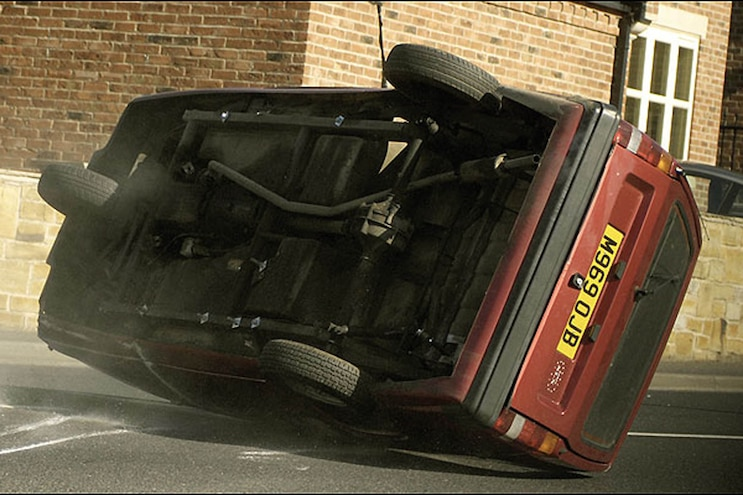 01 Top Gear Reliant Robin Rollover