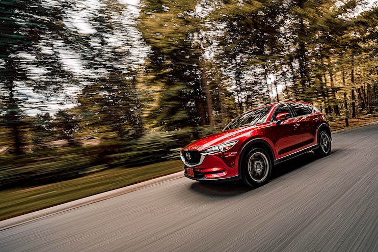 010 2020 Diesel Light Truck SUV Buyers Guide 2019 Mazda Cx 5 Exterior Action