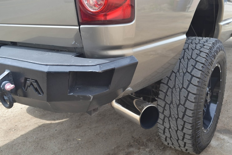 014 2007 Dodge Ram Fab Fours Bumper And Banks Tip