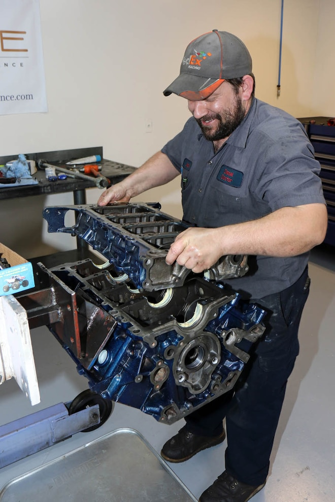 040 Hybrid 6 0 6 4l Power Stroke Short Block Build Mains
