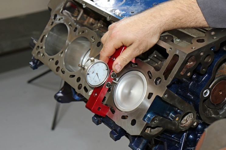 056 Hybrid 6 0 6 4l Power Stroke Short Block Build Measure