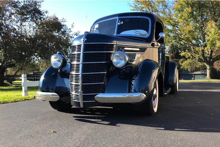 1937 International Pickup Front