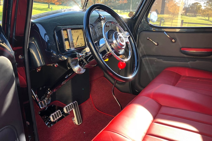 1937 International Pickup Interior