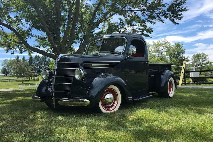 Restored & Enhanced: 1937 International Harvester Pickup