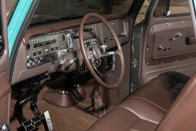 1965 Chevy C10 The General Interior