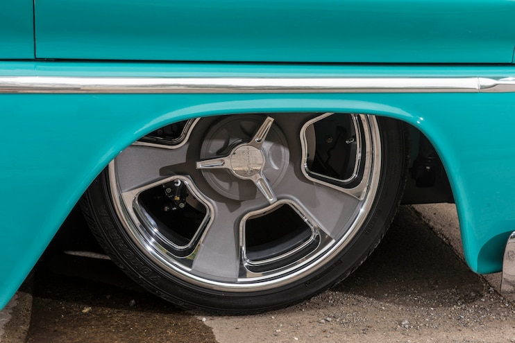 1965 Chevy C10 The General Wheel